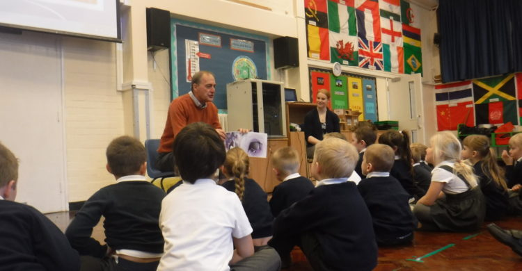 Chris Knott and Holly Nicholls tell Key Stage 1 some traditional tales from Malawi.