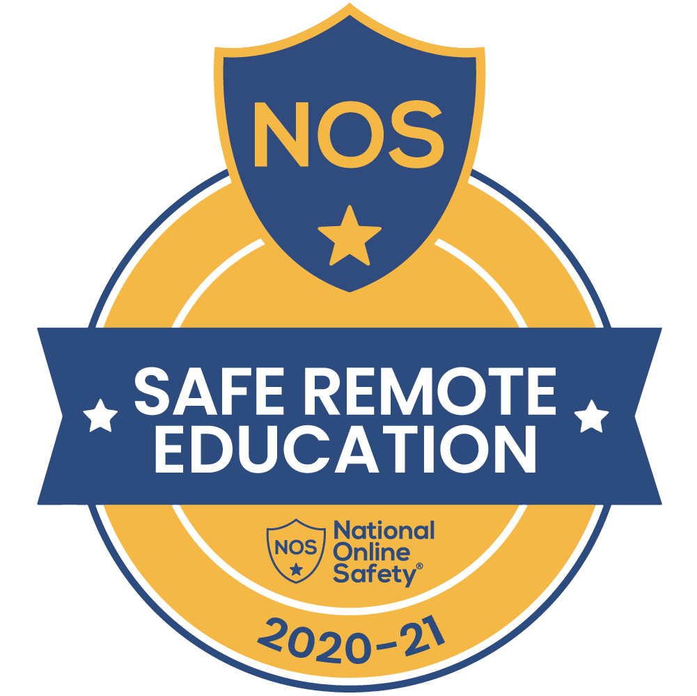 National Online Safety Safe Remote Education badge