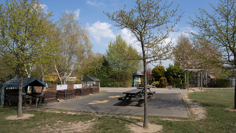 An outdoor area of Molehill